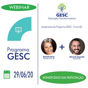 Programa GESC 82 agradecimento