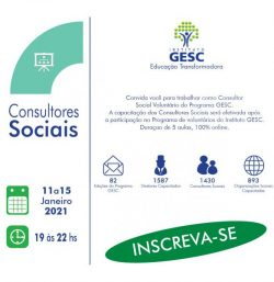 capacitacao de voluntarios gesc 83 v#2